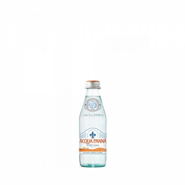 acqua panna still water 250ml glass