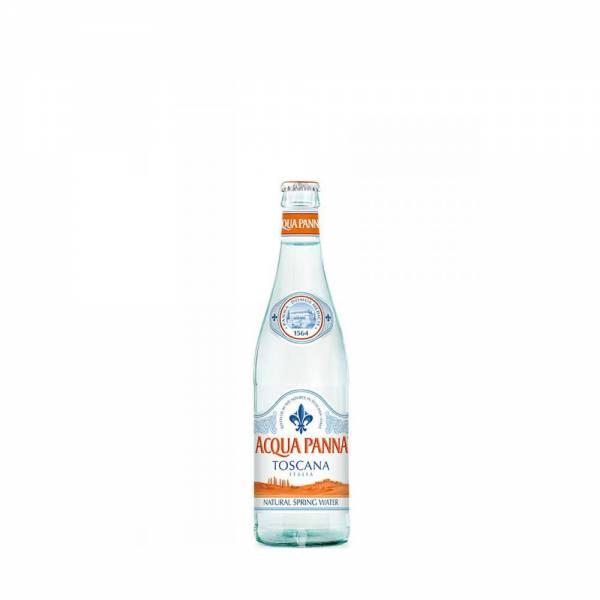 acqua panna 500ml glass bottle