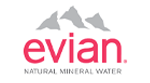 evian Natural Mineral Water Logo