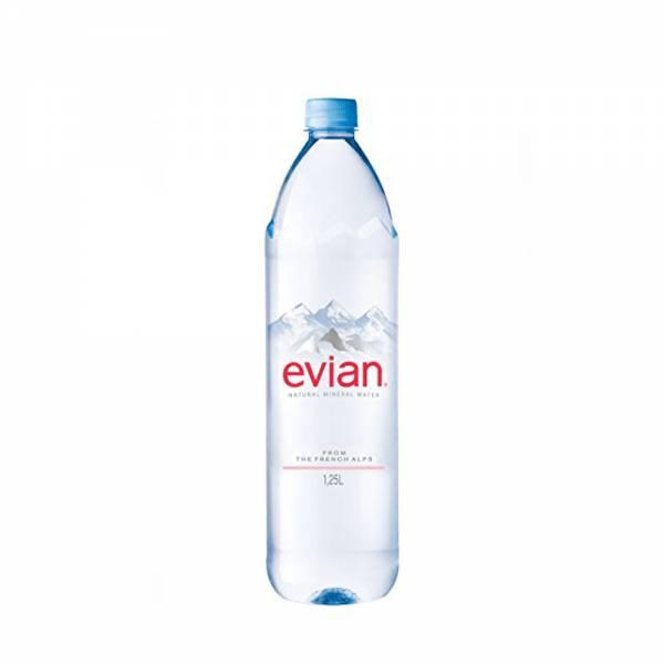 evian still water 1.25 litre
