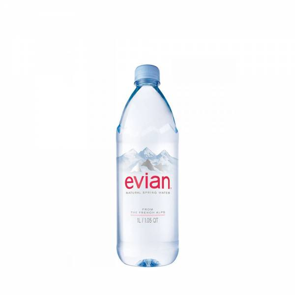 evian still water 1litre