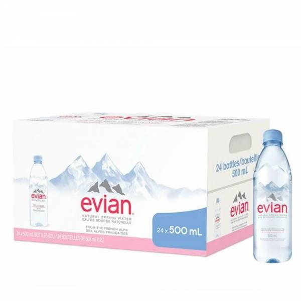 evian still water 24x500ml