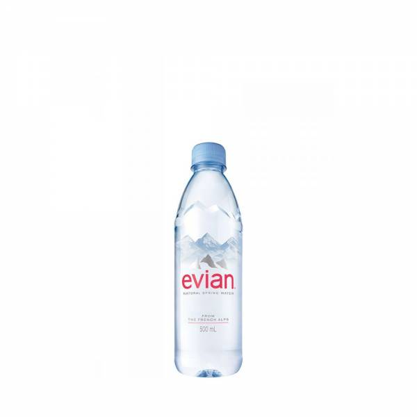 evian still water 500ml