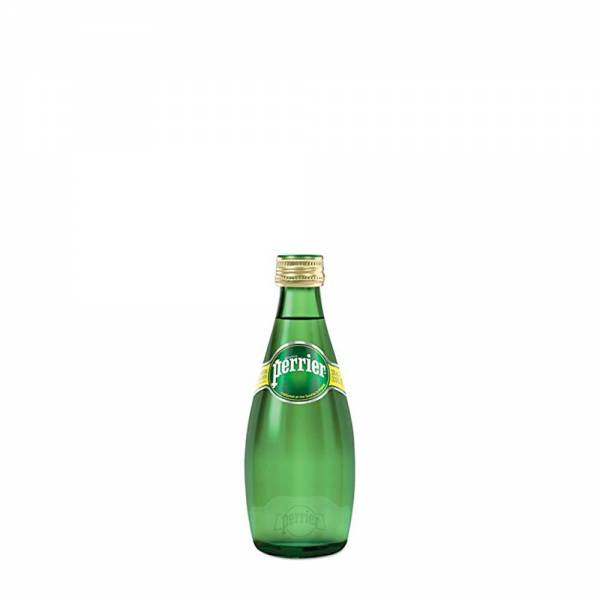 perrier sparkling water 330ml glass