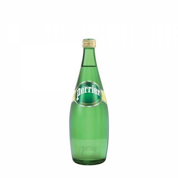 perrier sparkling water 750ml glass