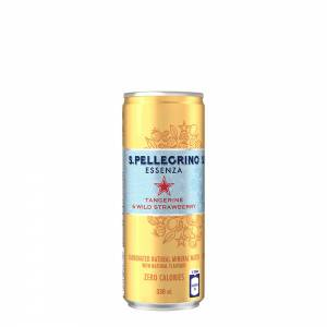 san pellegrino essenza tangerine wild strawberry 330ml