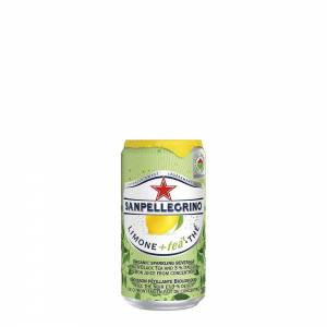 san pellegrino organic lemon black tea flavoured drink 250ml