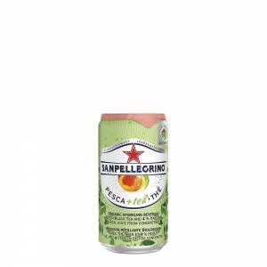 san pellegrino organic peach black tea flavoured drink 250ml