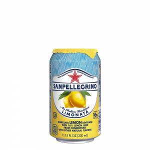 san pellegrino lemon flavoured sparkling beverage 330ml