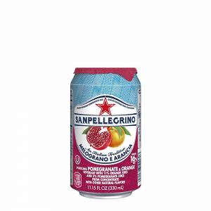 san pellegrino pomegranate flavoured sparkling beverage 330ml
