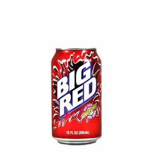 big red cream soda 330ml