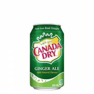 canada dry ginger ale soda 330ml