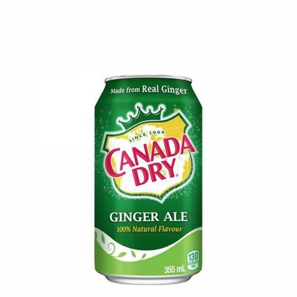 canada dry ginger ale soda 330ml