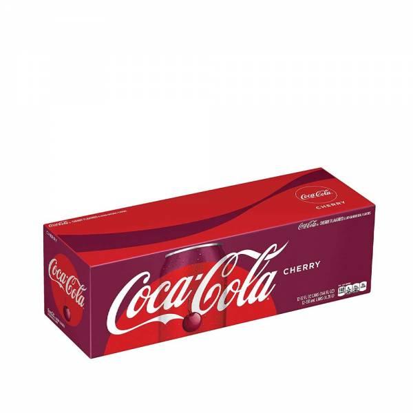 coca cola cherry soda 12x330ml