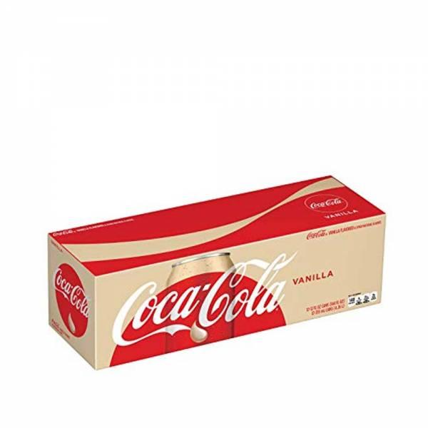 coca cola vanilla soda 12x330ml
