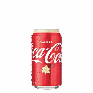 coca cola vanilla soda 330ml