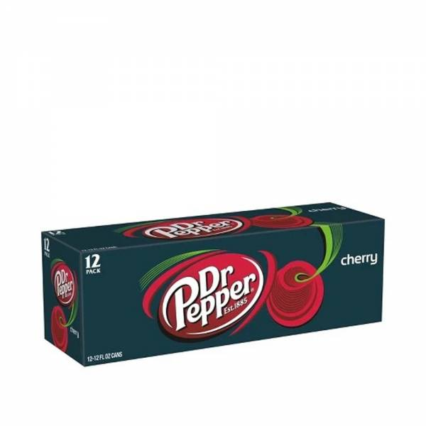 dr pepper cherry soda 12x330ml