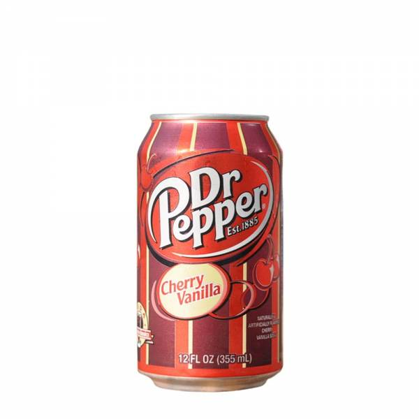 dr pepper cherry vanilla soda 330ml