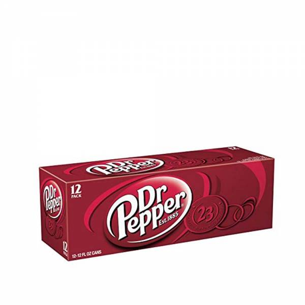 dr pepper original soda 12x330ml