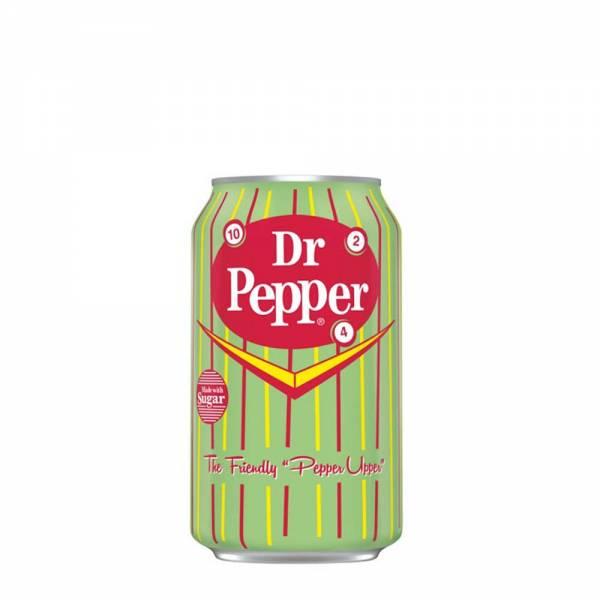 dr pepper real sugar soda 330ml