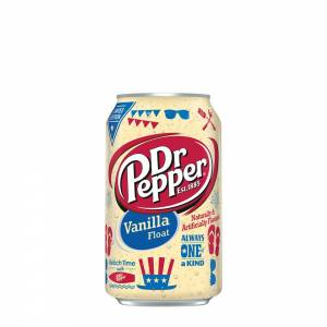 dr pepper vanilla float soda 330ml