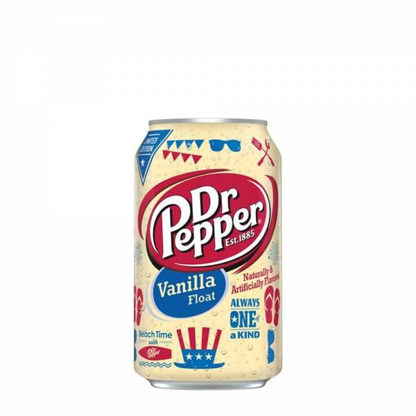 dr pepper vanilla float soda 330ml