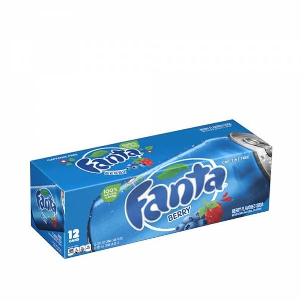 fanta berry caffeine free 12x330ml