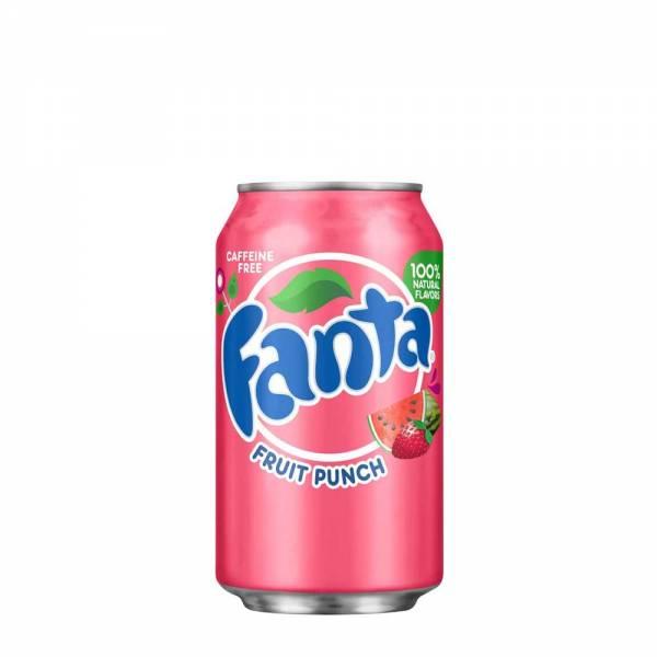 fanta fruit punch caffeine free 330ml
