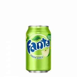 fanta green apple caffeine free 330ml