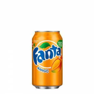 fanta mango caffeine free 330ml