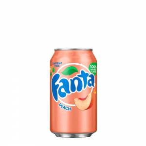 fanta peach caffeine free 330ml
