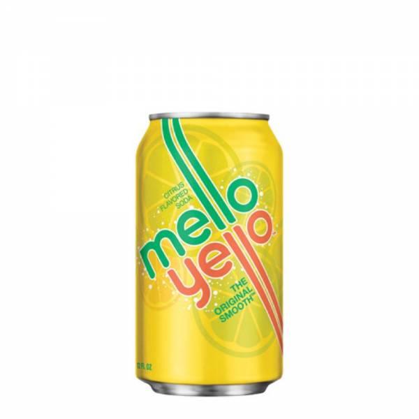 mello yellow citrus flavoured soda 330ml