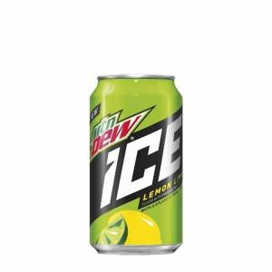 mountain dew ice lemon soda 330ml