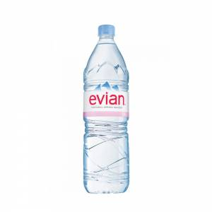 evian still water 1.5litre