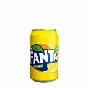 Fanta Lemon Soda 330ml